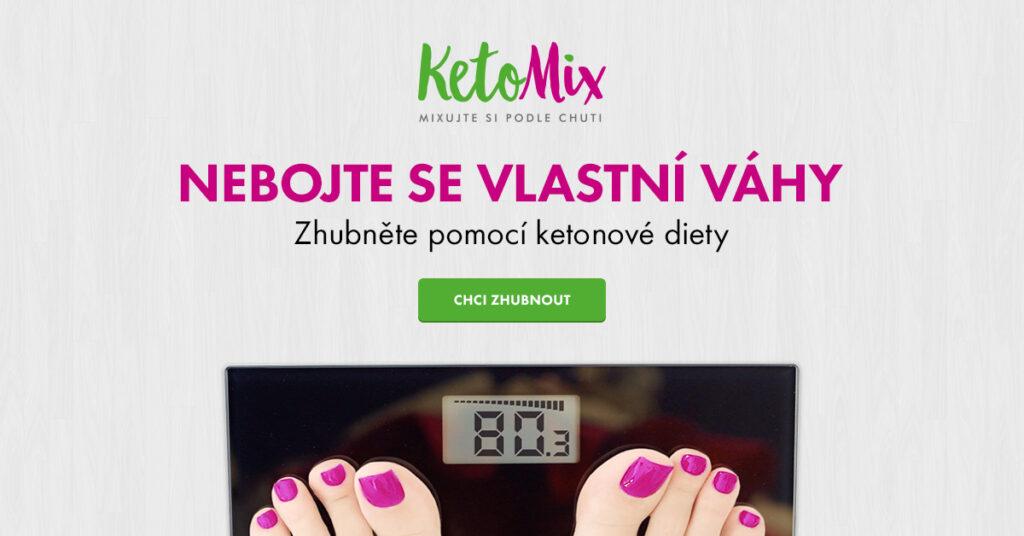 KetoMix: Zhubněte pomocí ketonové diety