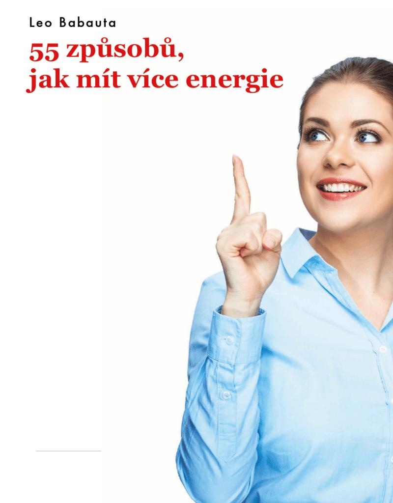 55 spôsobov ako mať viac energie