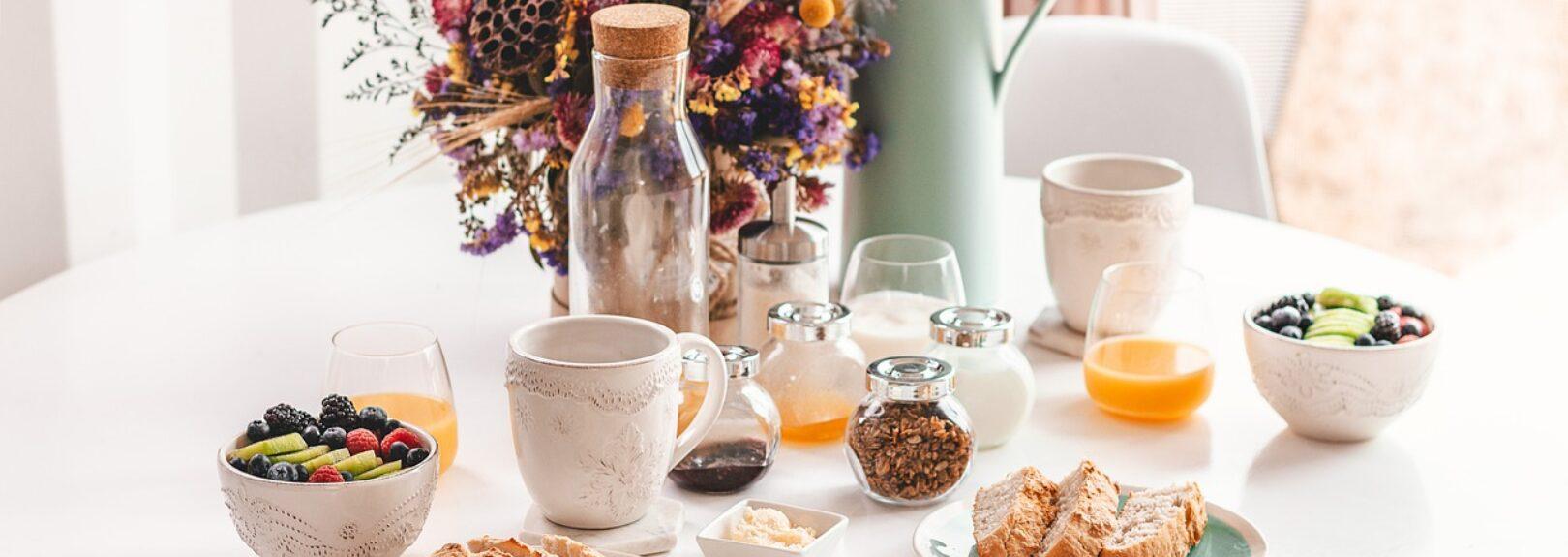 chutné a zdravé raňajky